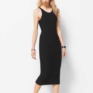 Michael Kors Sleeveless Dress Black